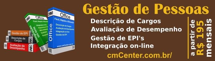 CM Center Office - Sistema de Gestão de Pessoas