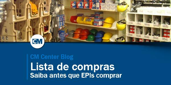 Lista de compras de EPI