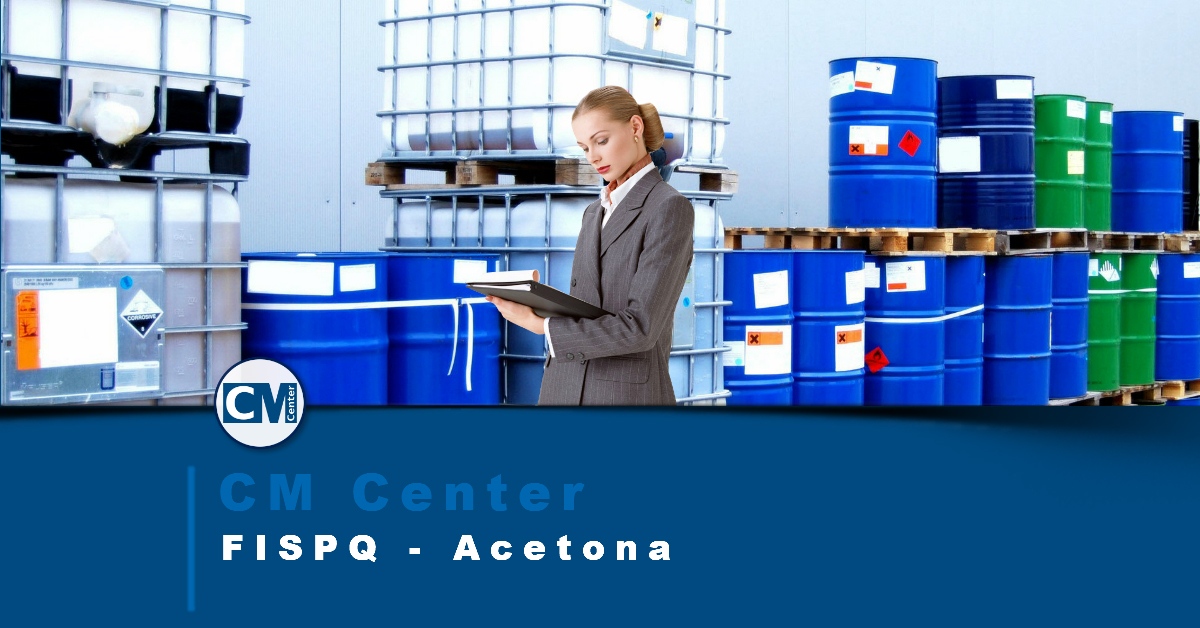 FISPQ Acetona - Perigos, cuidados e EPIs