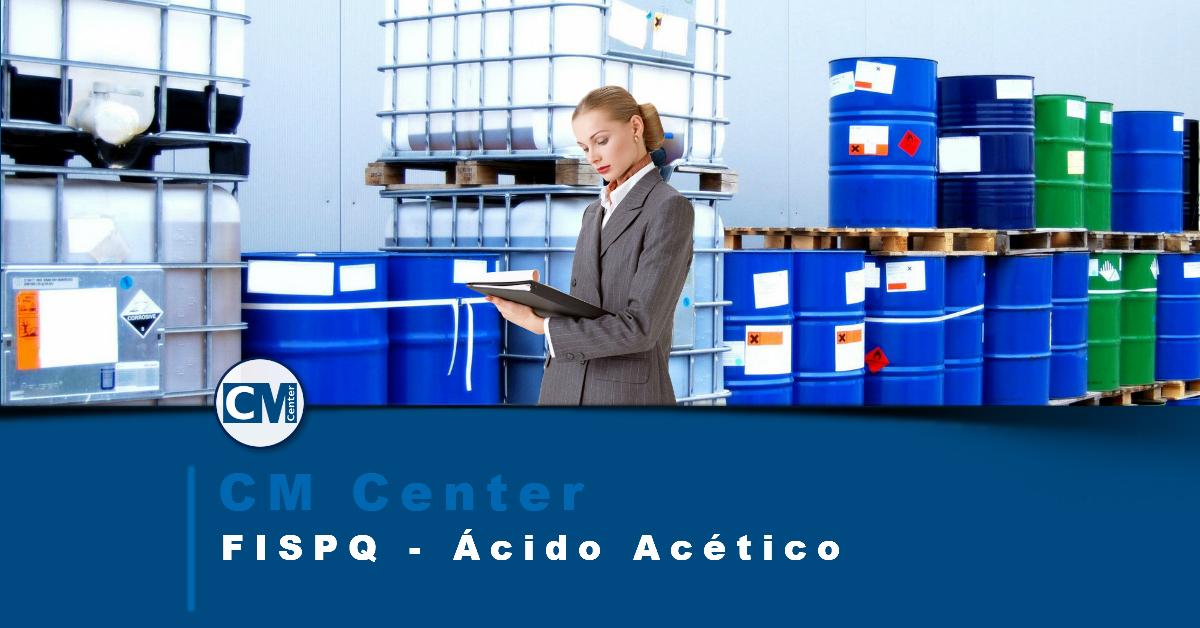FISPQ Ácido acético - Perigos, cuidados e EPIs