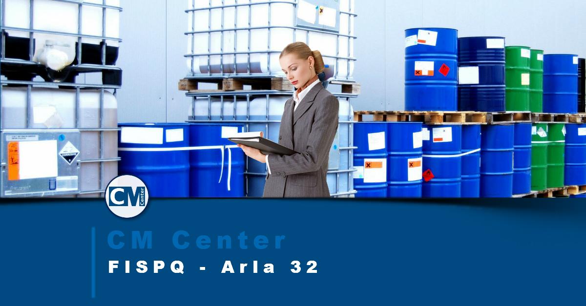 FISPQ Arla 32 - Perigos, cuidados e EPIs