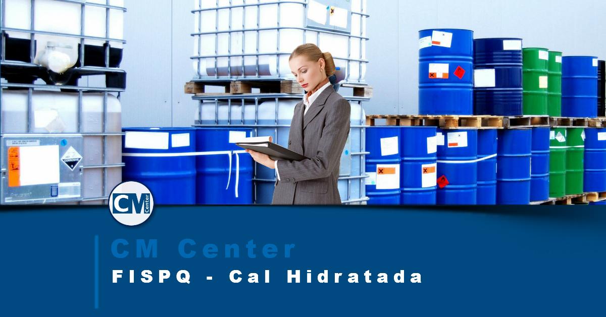 FISPQ Cal Hidratada - Perigos, cuidados e EPIs
