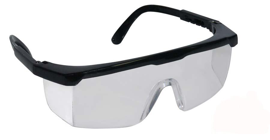 EPI para proteção dos olhos: ÓCULOS DE SEGURANÇA INCOLOR