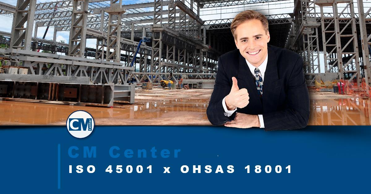 Diferenças entre a ISO 45001 e a OHSAS 18001
