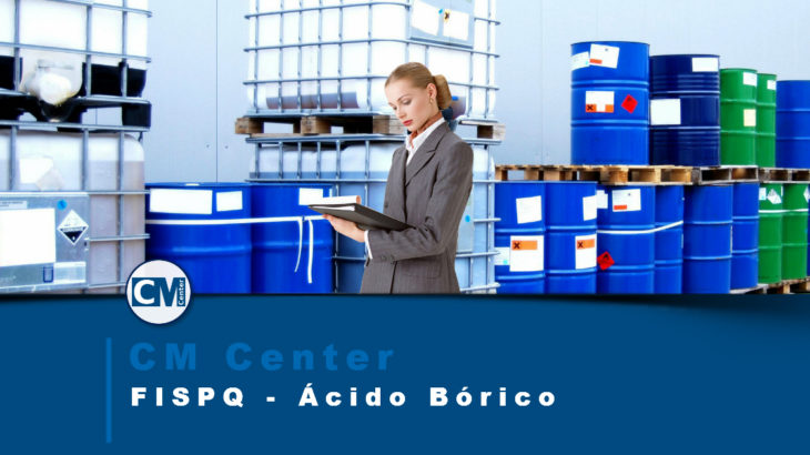 FISPQ Ácido Bórico - Perigos, cuidados e EPIs
